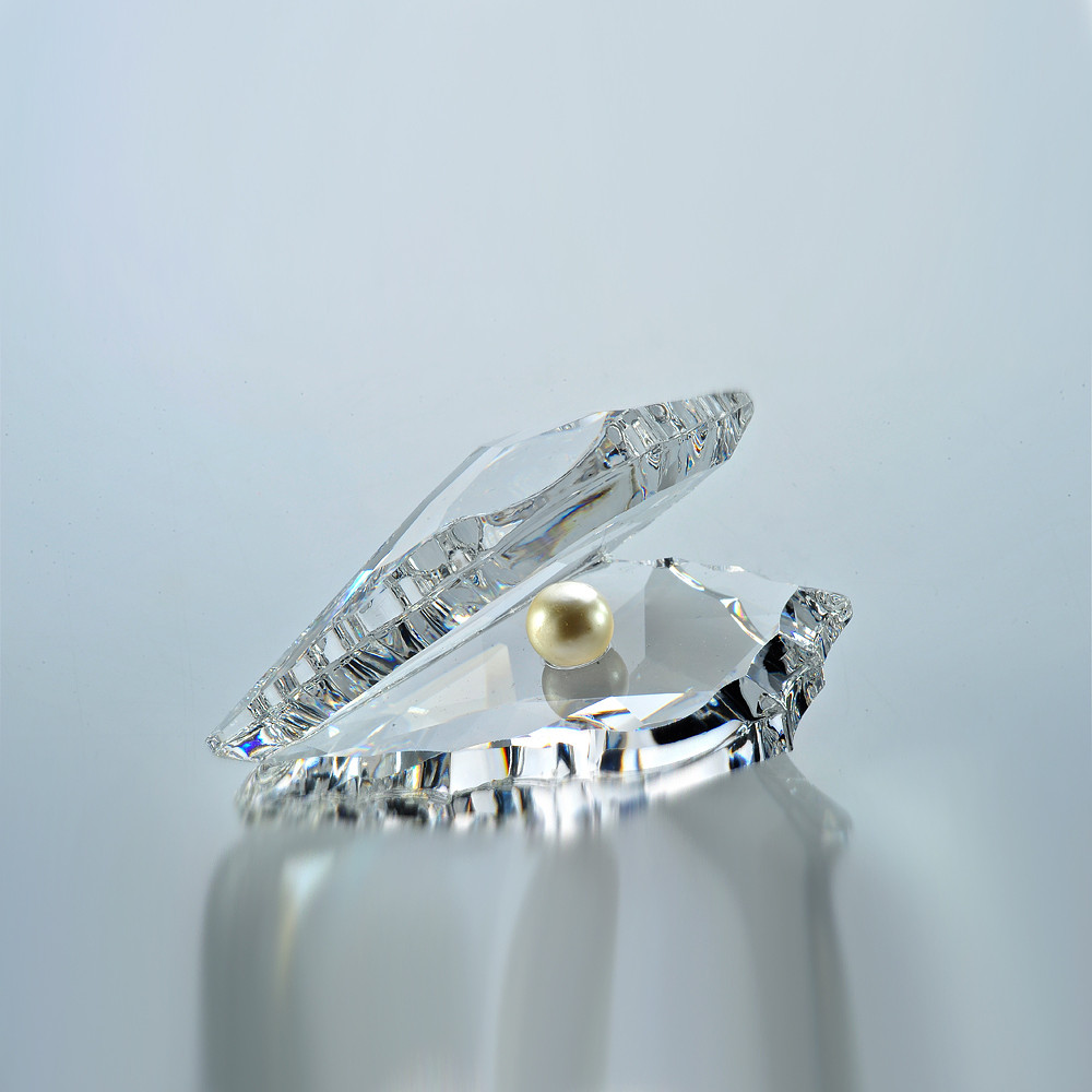 Asfour Crystal Crystal Pearl Shell Décor