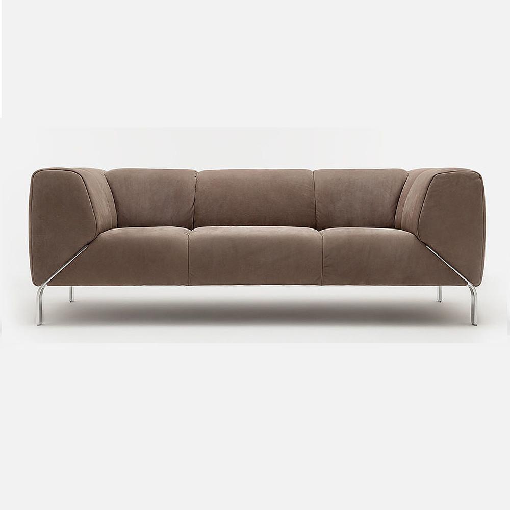 Rolf Benz 4 Metal Sofa
