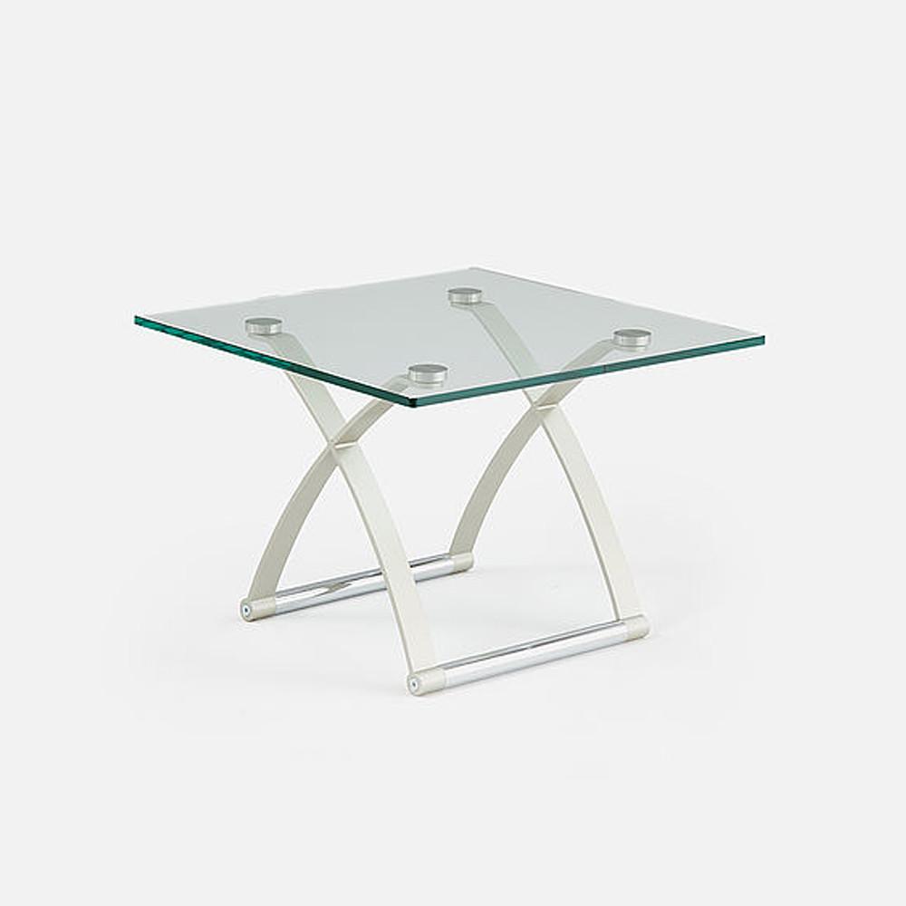 Rolf Benz Glass & Metal Coffee Table