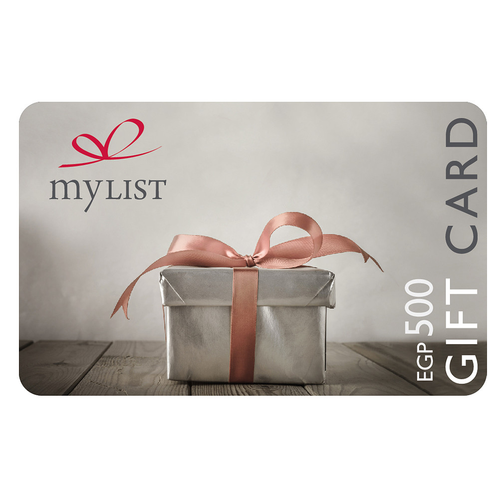 MyList Gift Card EGP 500