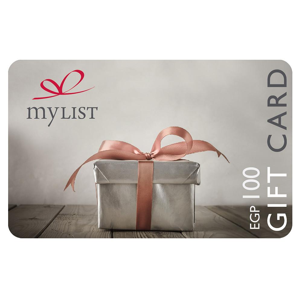 MyList Gift Card EGP 100