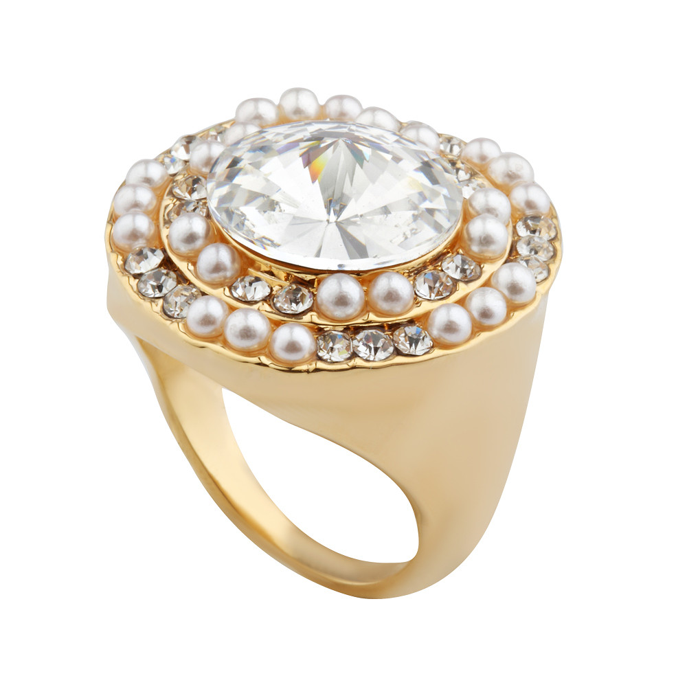 Asfour Crystal Royal Ring