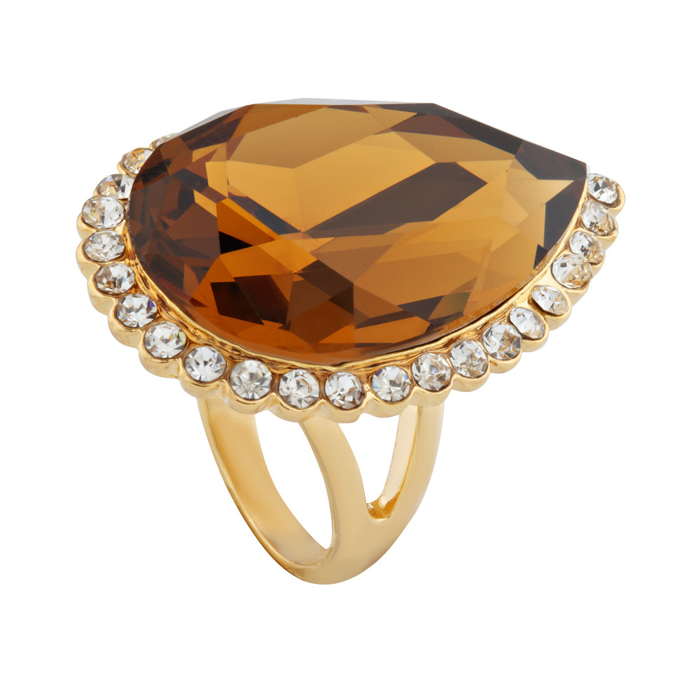 Asfour Crystal Elegant Ring