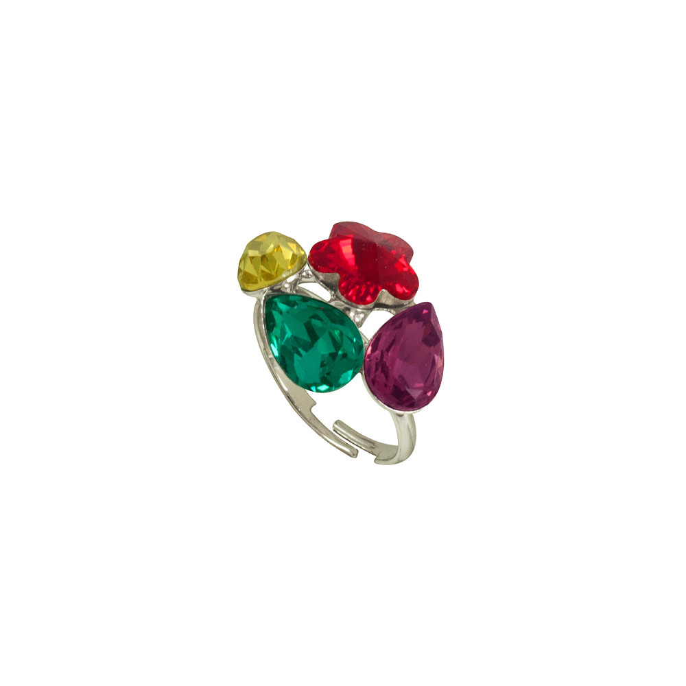 Asfour Crystal Tropical Ring