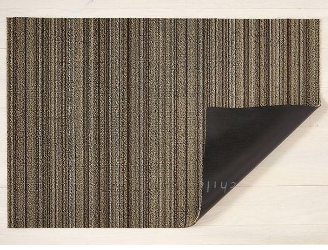 Chilewich ShagSkinny Doormat, 46x71cm Mushroom