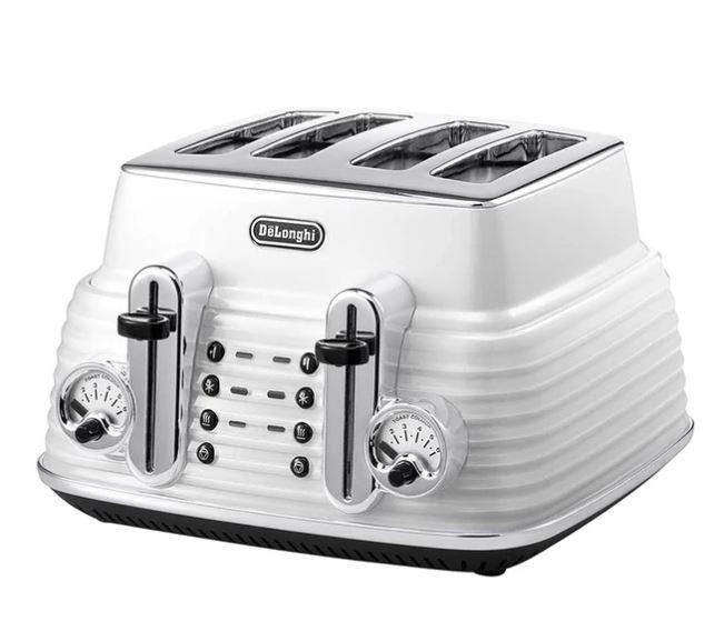 Scultura 4 Slice Toaster - White
