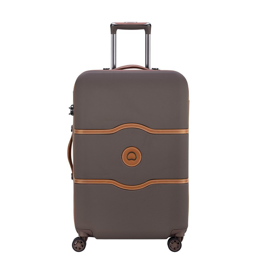 Chatelet Air 67 CM 4 DOUBLE WHEELS TROLLEY CASE  Chocolate
