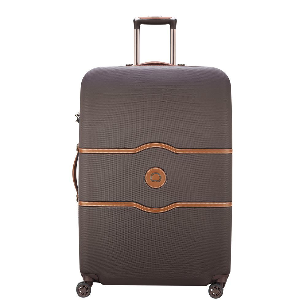 Chatelet Air 82 CM 4 DOUBLE WHEELS TROLLEY CASE  Chocolate