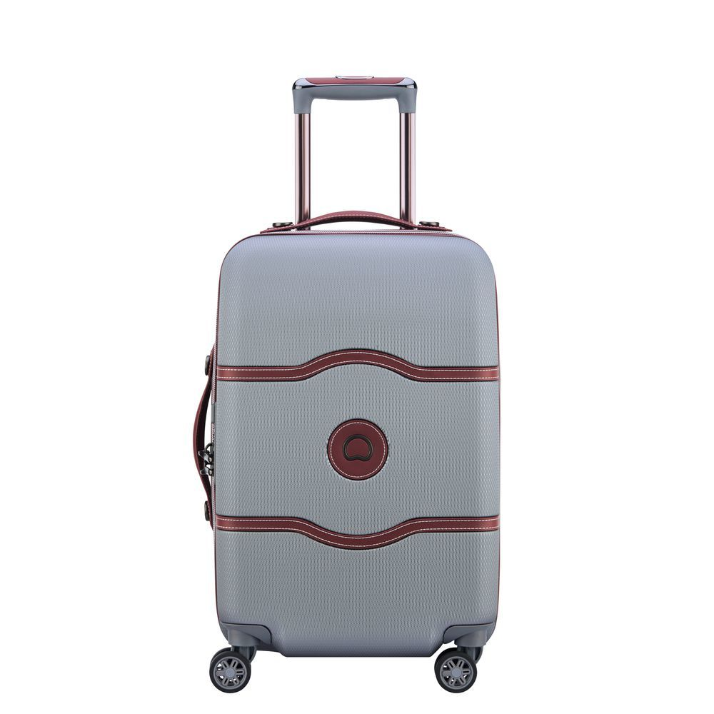 Chatelet Air 60 CM 4 DOUBLE WHEELS TROLLEY CASE  Silver