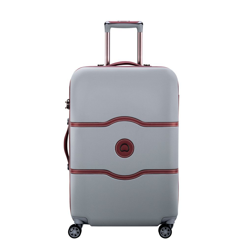 Chatelet Air 67 CM 4 DOUBLE WHEELS TROLLEY CASE  Silver