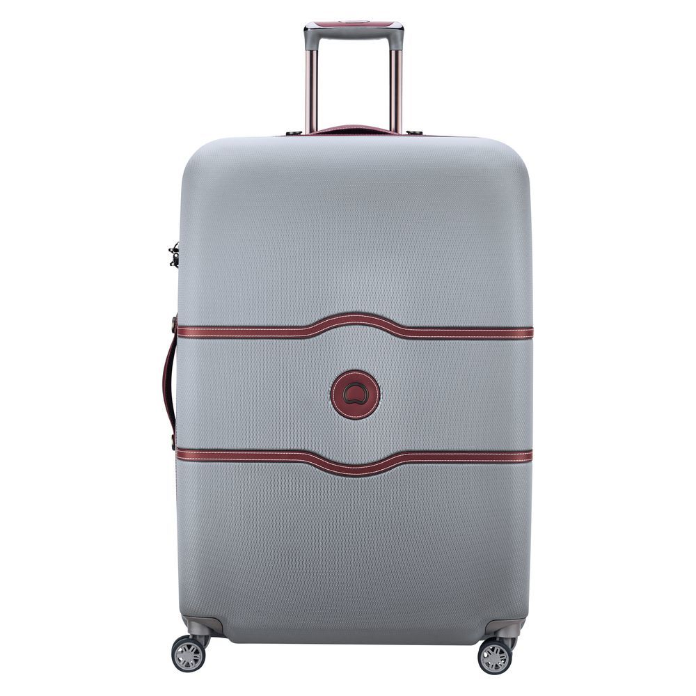 Chatelet Air 82 CM 4 DOUBLE WHEELS TROLLEY CASE  Silver