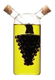 Dual Oil and Vinegar Bottle 300ml/50ml