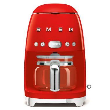 Drip Filter Coffee Machine Pastel Red