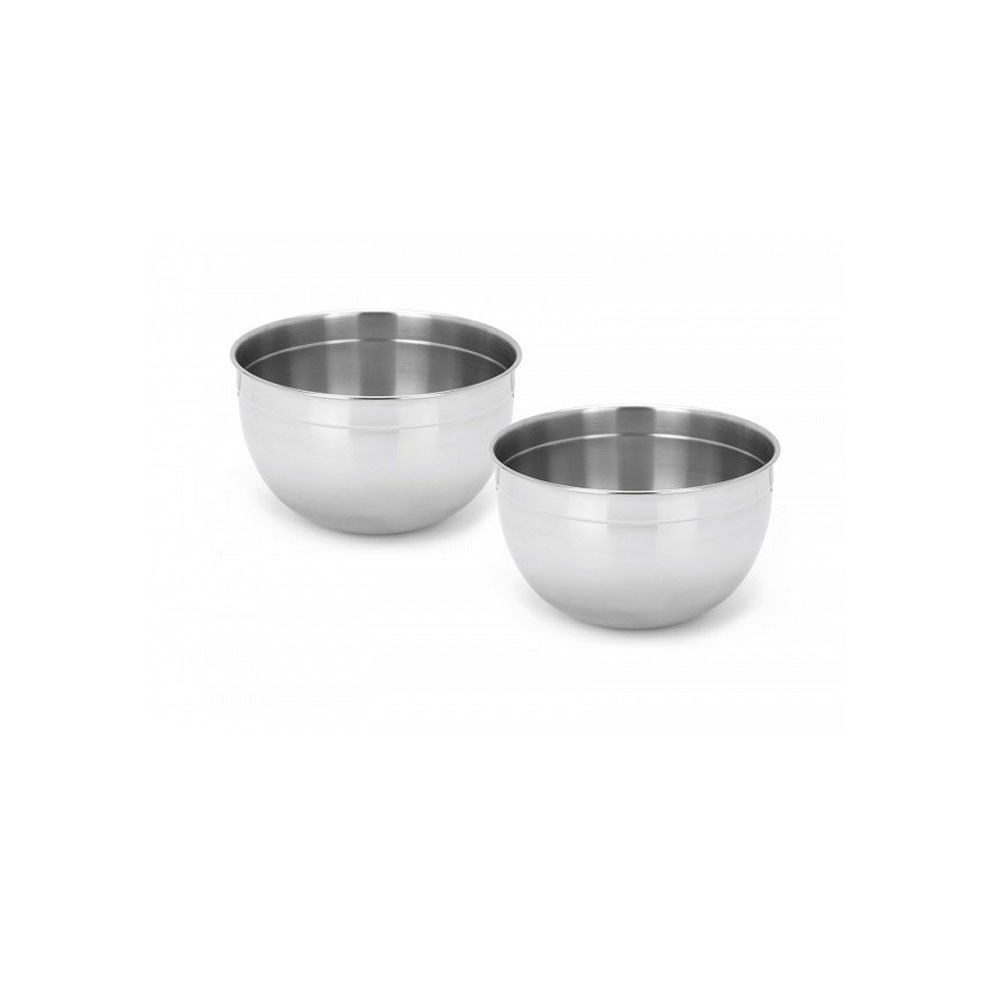 Stainless Steel 2-Piece Mixing Bowl Set