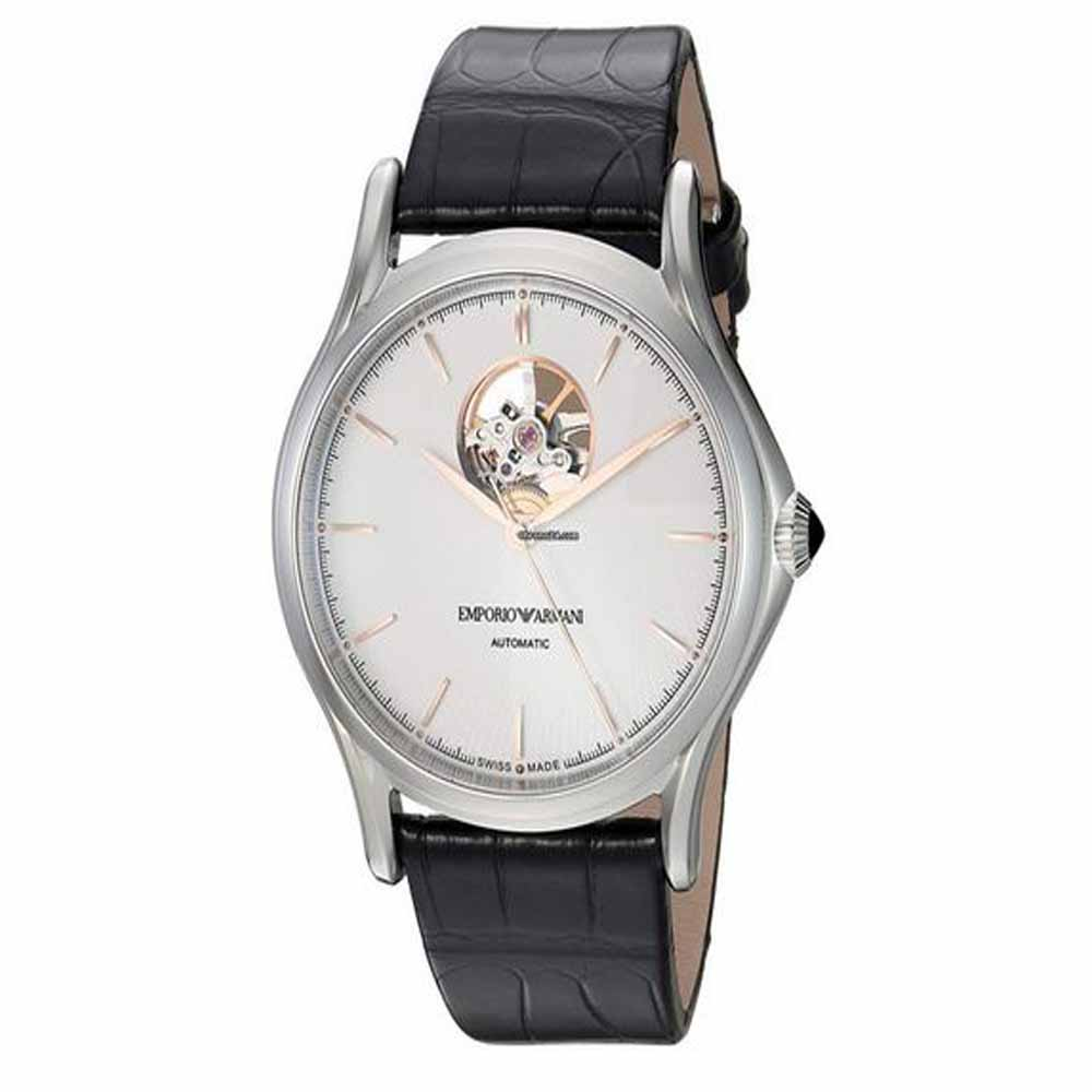 Men's Swiss Made White Dial Watch