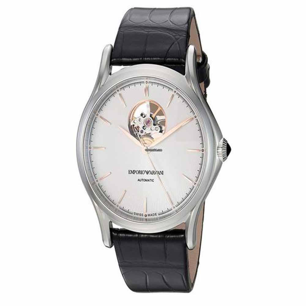 Men's Swiss Made White Dial Watch