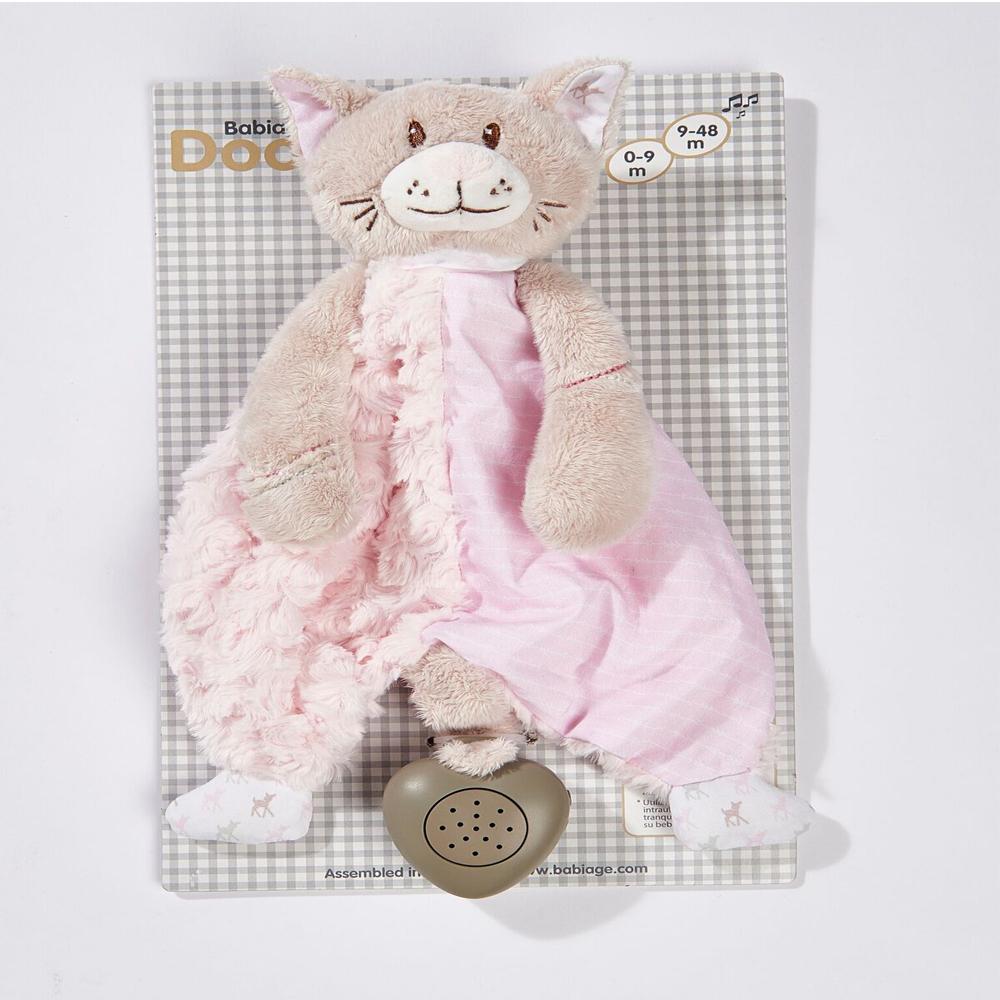 Back-to-sleep baby monitor - Flat Kitty Doodoo