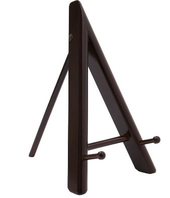 Frame Easel stand 10inch ht  Wenge