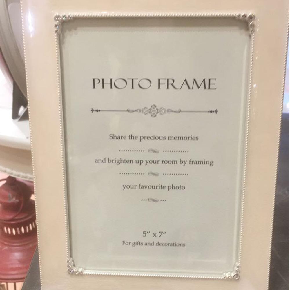 Photoframe Zinc Ivory 13x18cm