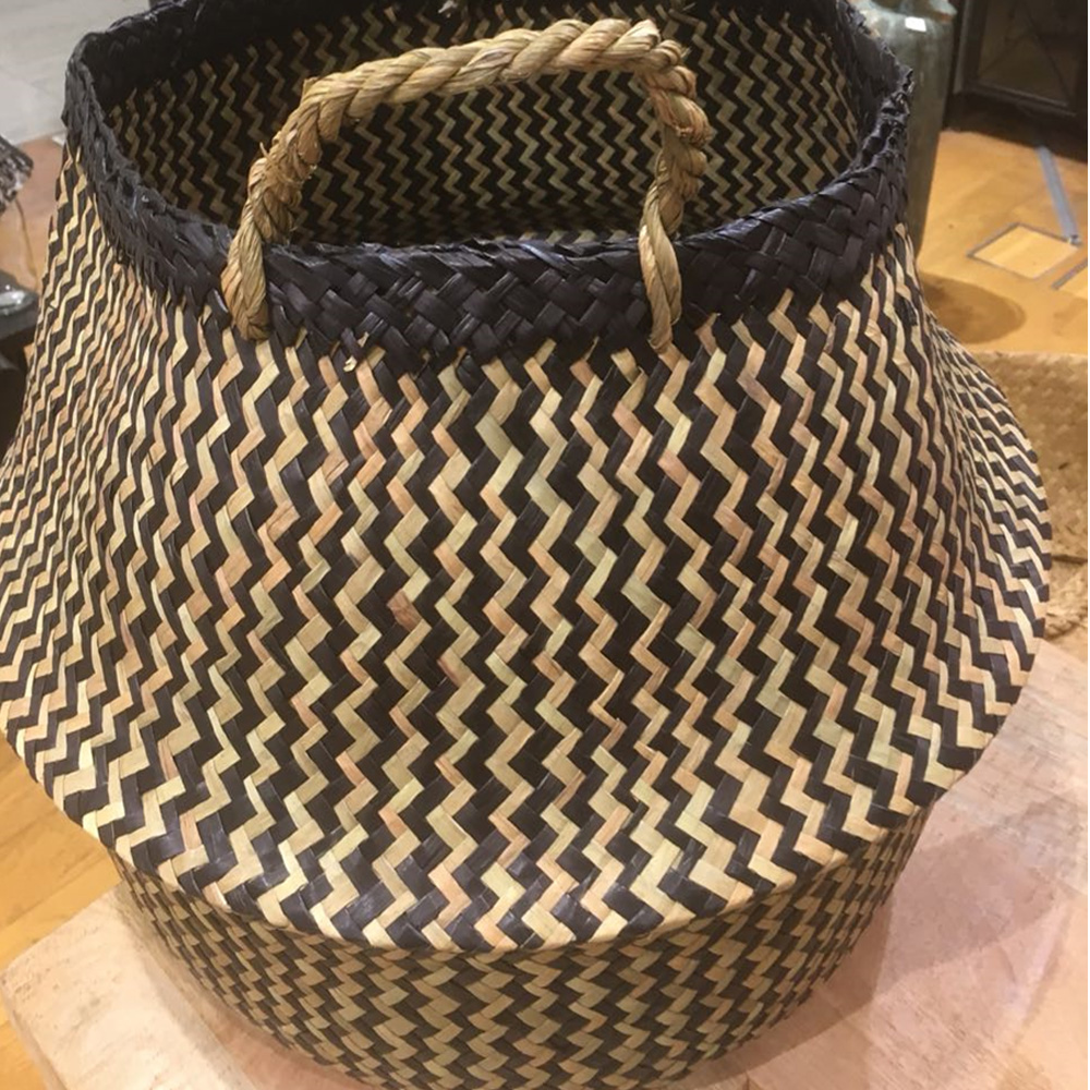 Basket Mix Natural 45x45x30cm
