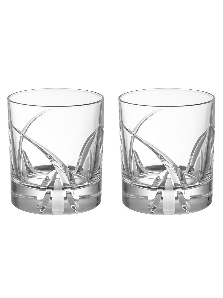 Grosseto Cut Crystal Glass Tumbler  Clear