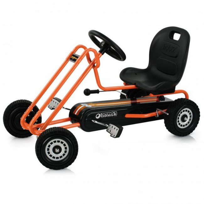 Hauck Toys Lightning Go Cart-orange