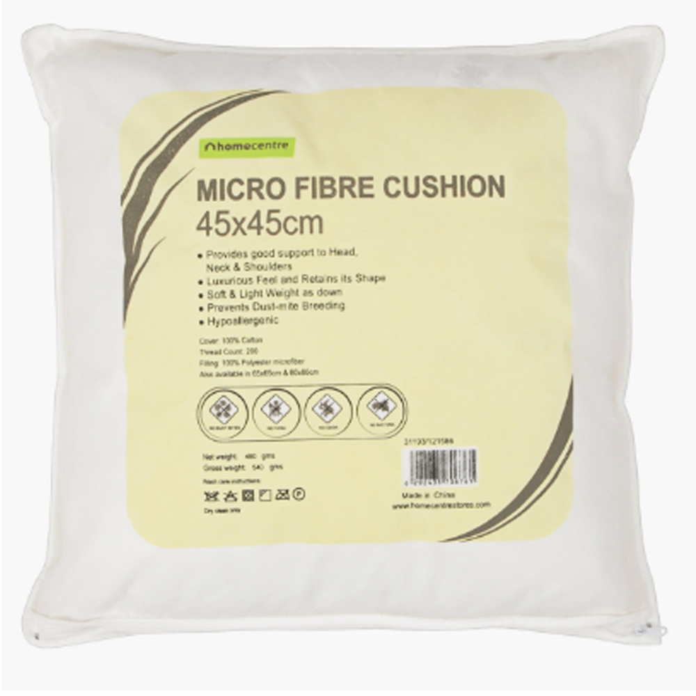 Microfibre Cushion - 45x45 cms