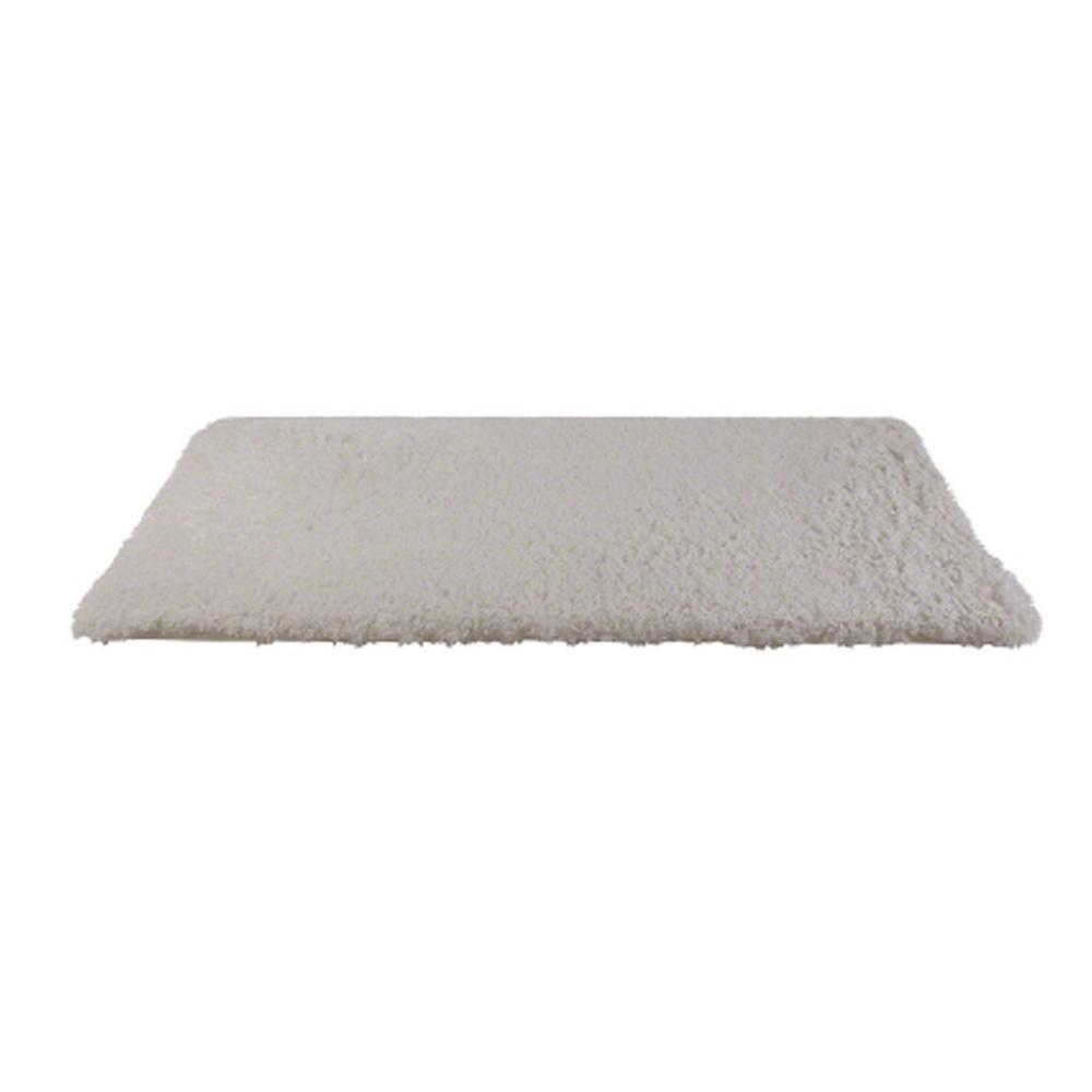 Premium Memory Foam Bath Mat - 70x120cm White