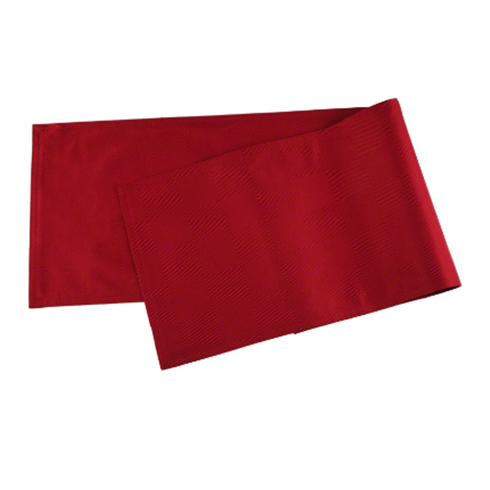 Richmond Table Runner - 33x180cm Red