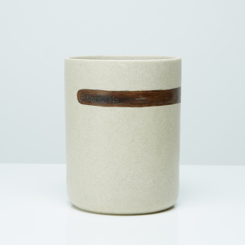 Masaki Textured Hand Painted Waste Bin