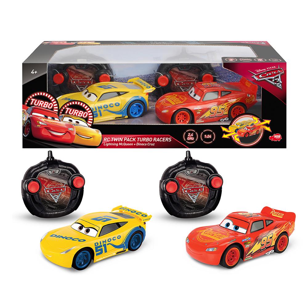 Cars 3 Twin Pack LMQ & Cruz 1:24