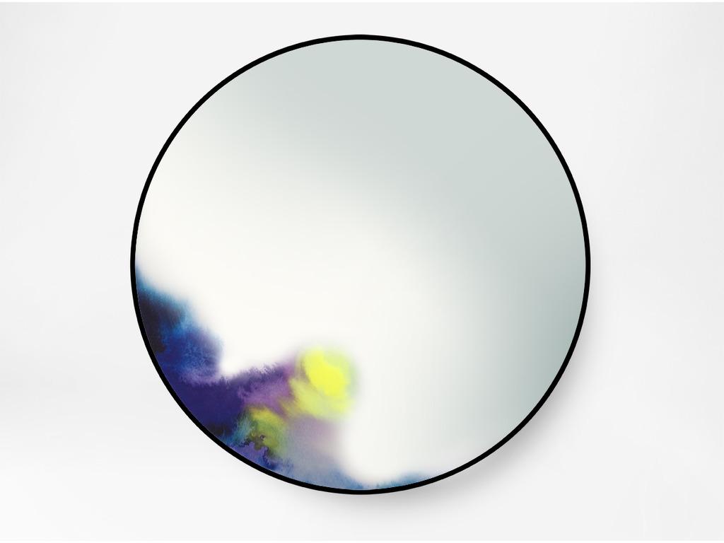 Francis Miroir Mural Grand Bleu