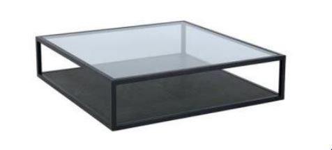 AGOTA COFFEE TABLE 126 x 126 x 30cms