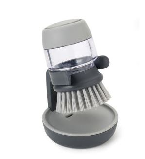 Palm Scrub Grey Dish Brush