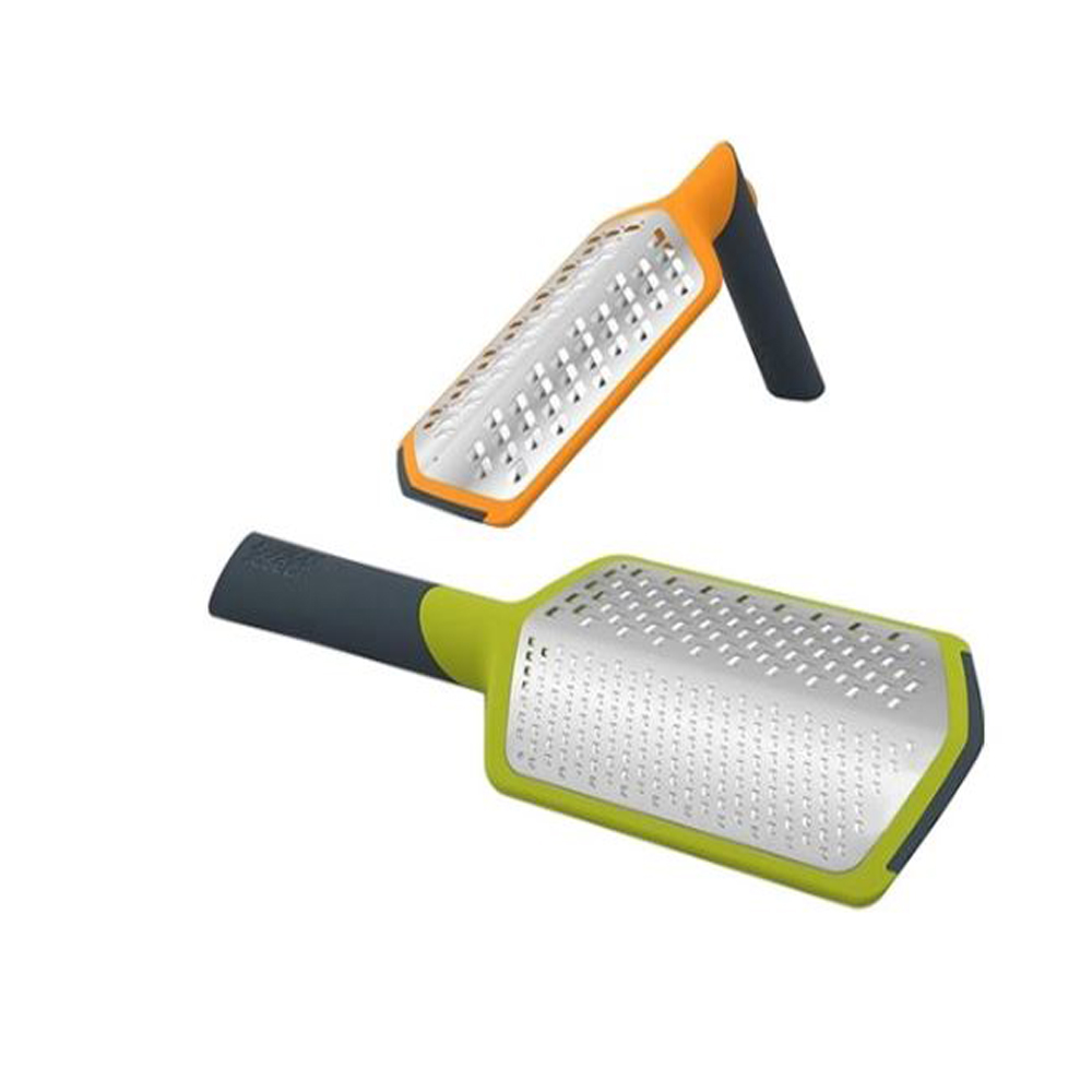 TwistGrater 2-in-1 Coarse and Fine Grater with Adjustable Handle