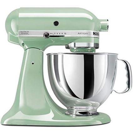 KitchenAid Artisan 4.8L 300W Stand Mixer-Pistachio