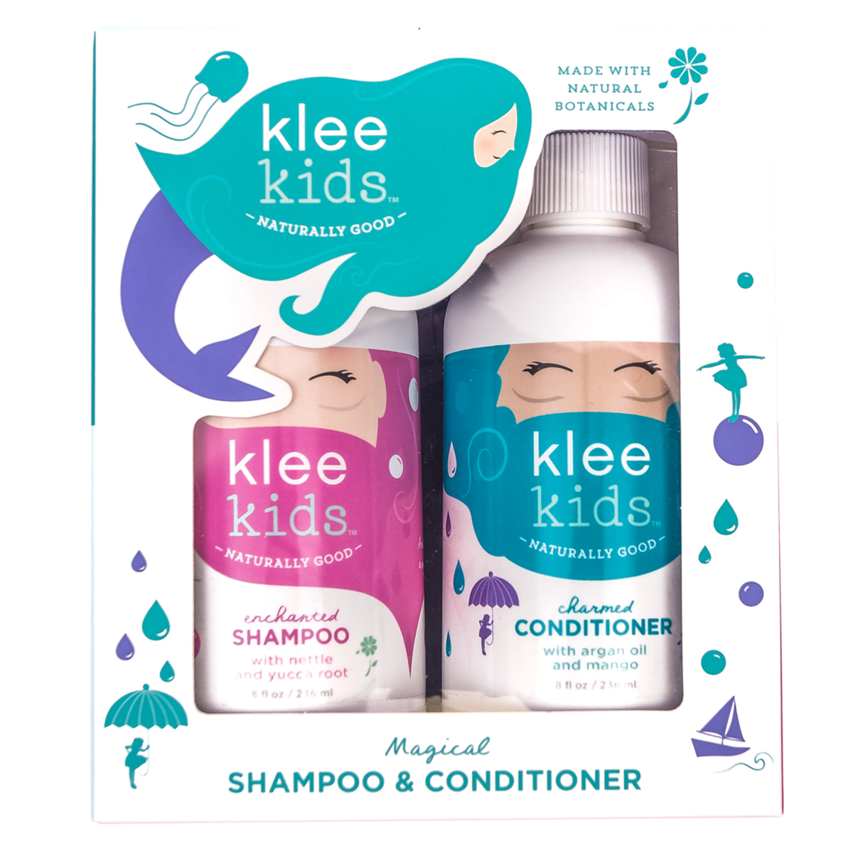 Klee Naturals Shampoo and Conditioner Set