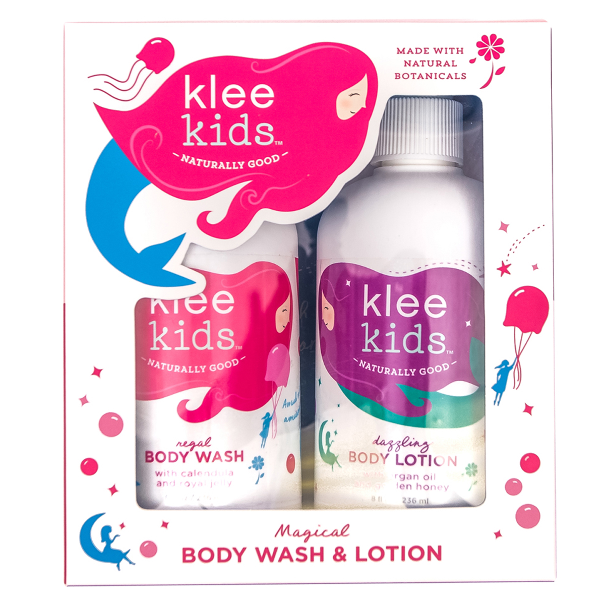 Klee Naturals Body Wash and Lotion Set