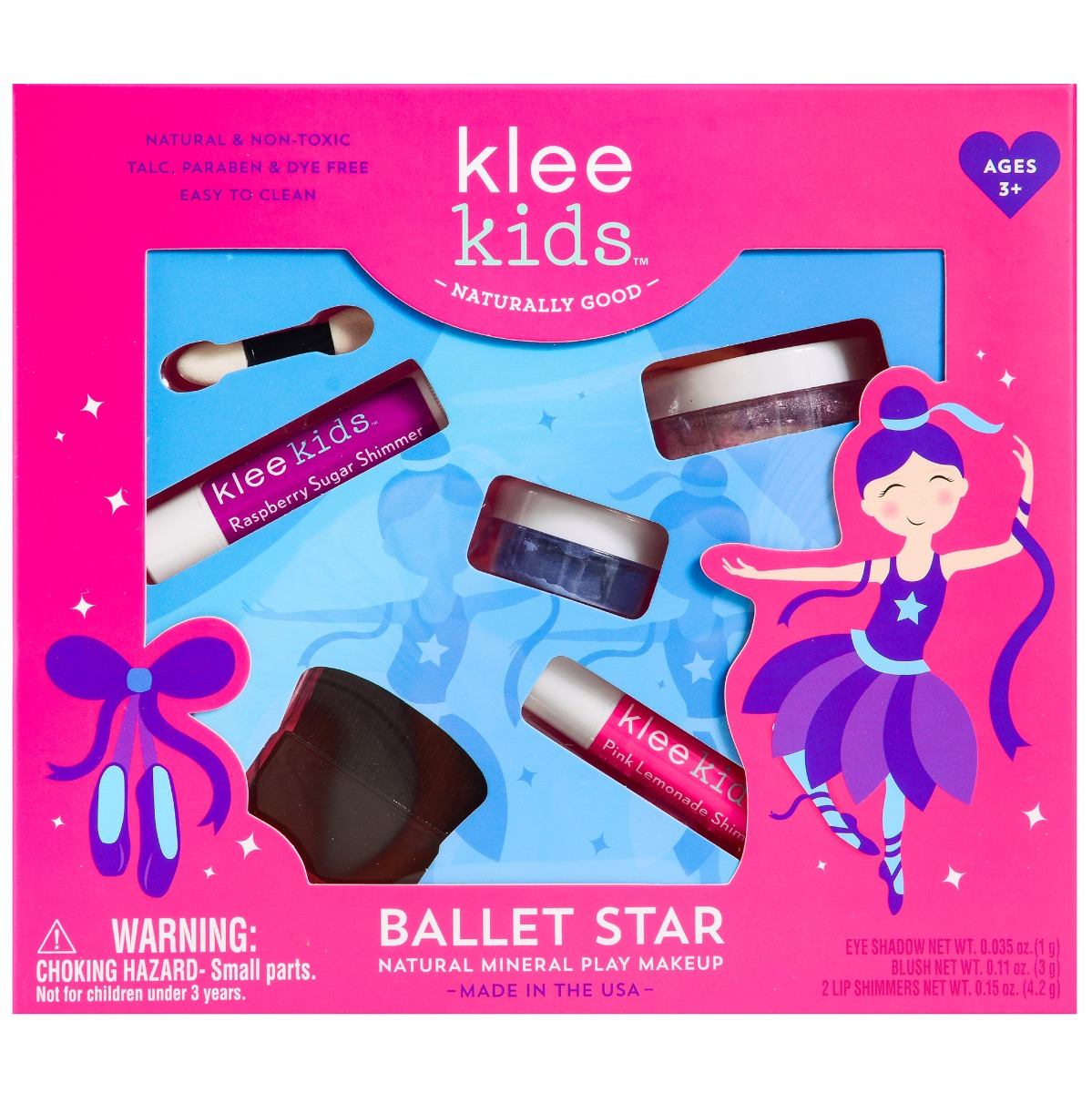 Natural Play Makeup Set - Ballet Star