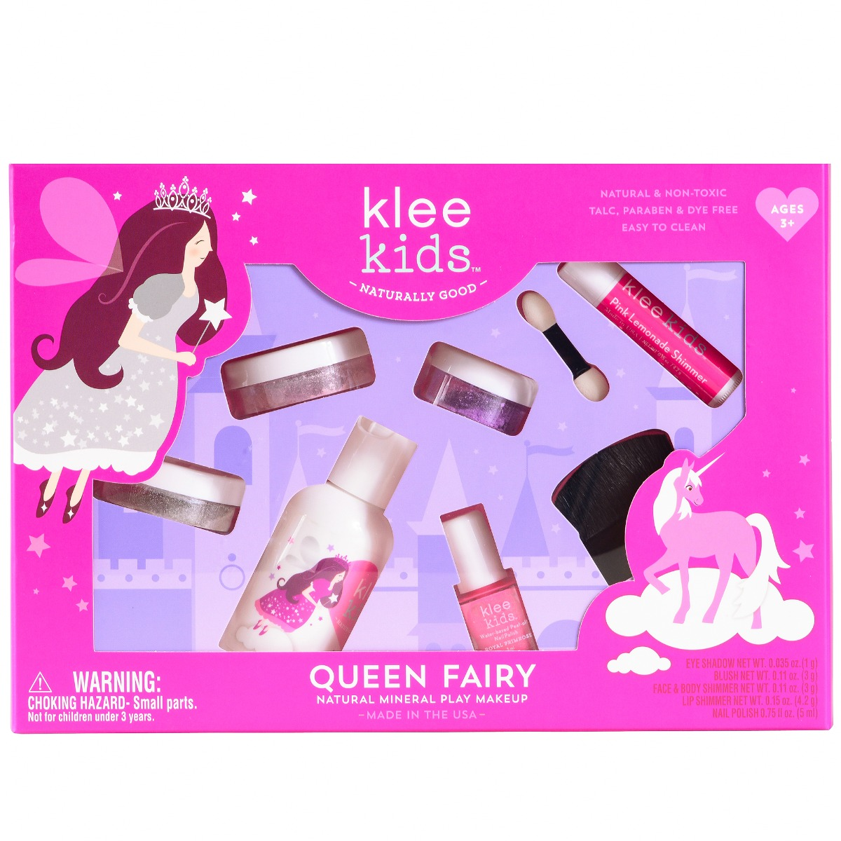 Natural Play Makeup Set - Queen Fairy