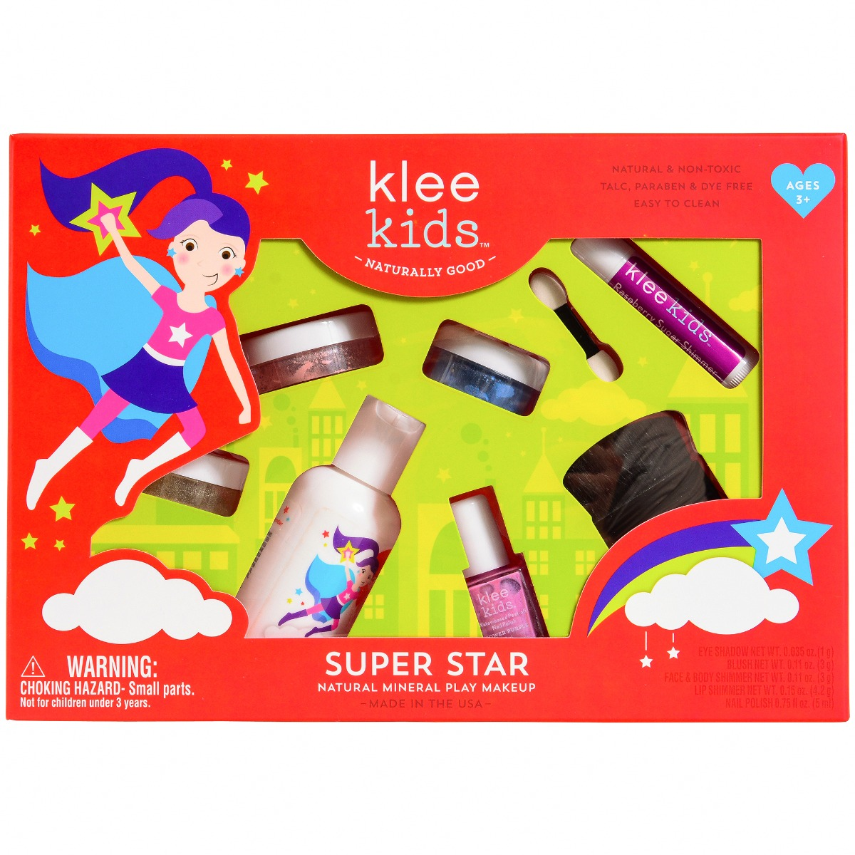 Natural Play Makeup Set - Super Star