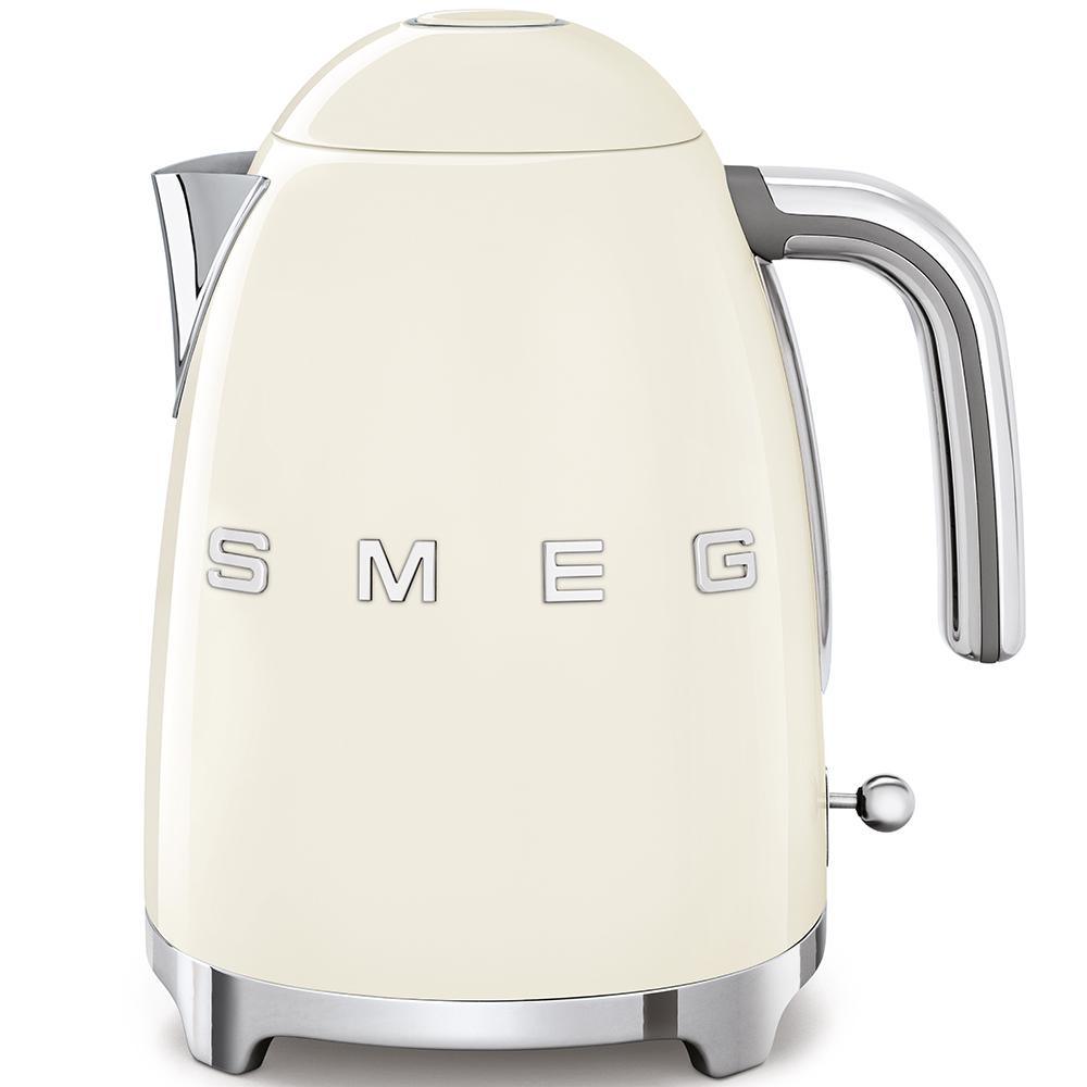 Smeg 50's Retro Style Aesthetic Kettle - Cream
