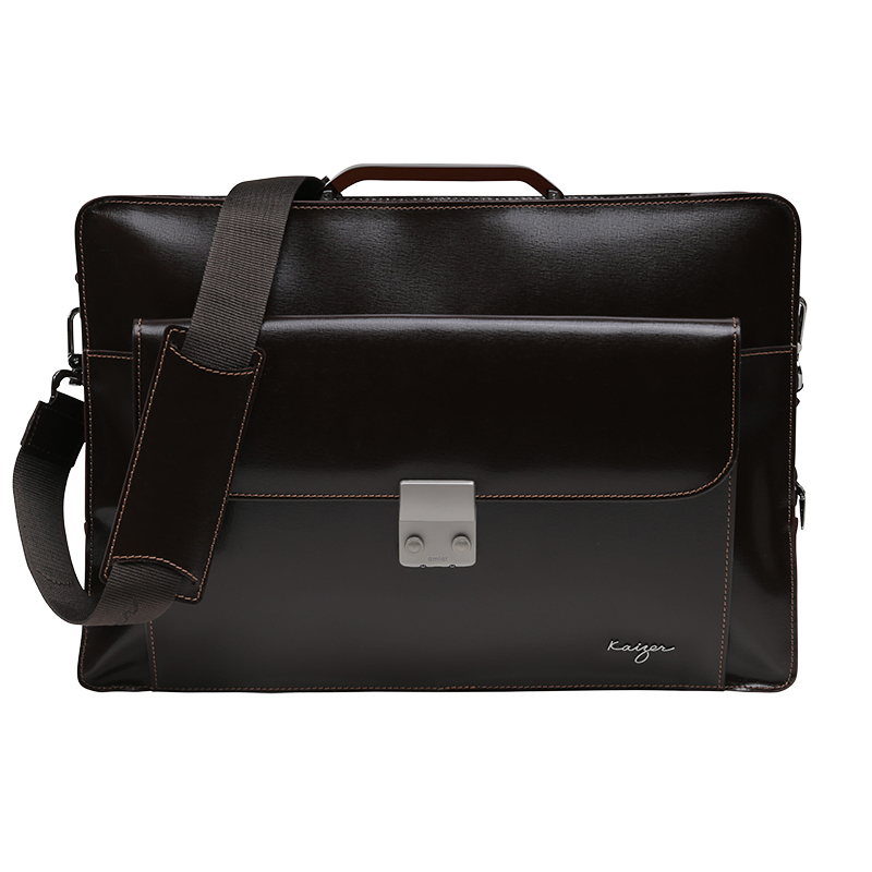 Credence Leather Business Bag