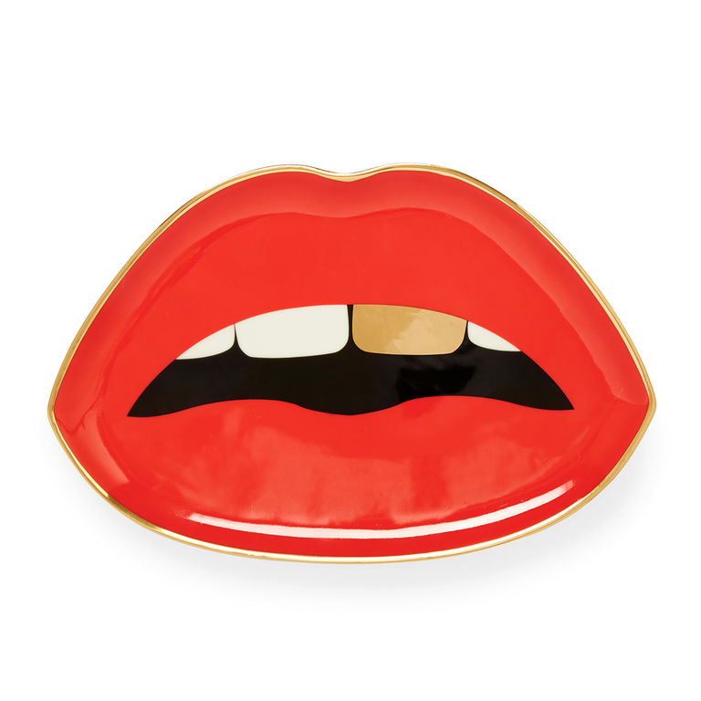 LIPS TRINKET TRAY