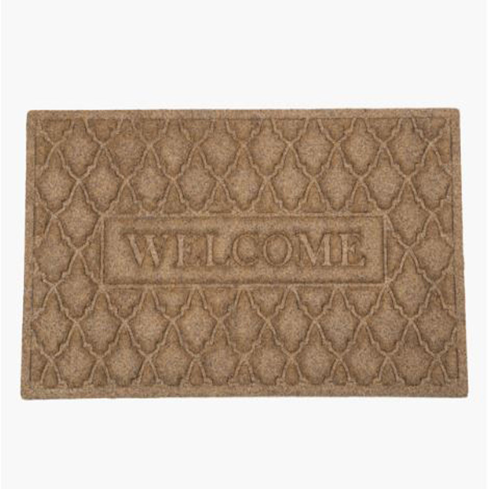 Omega Welcome Mat - Beige