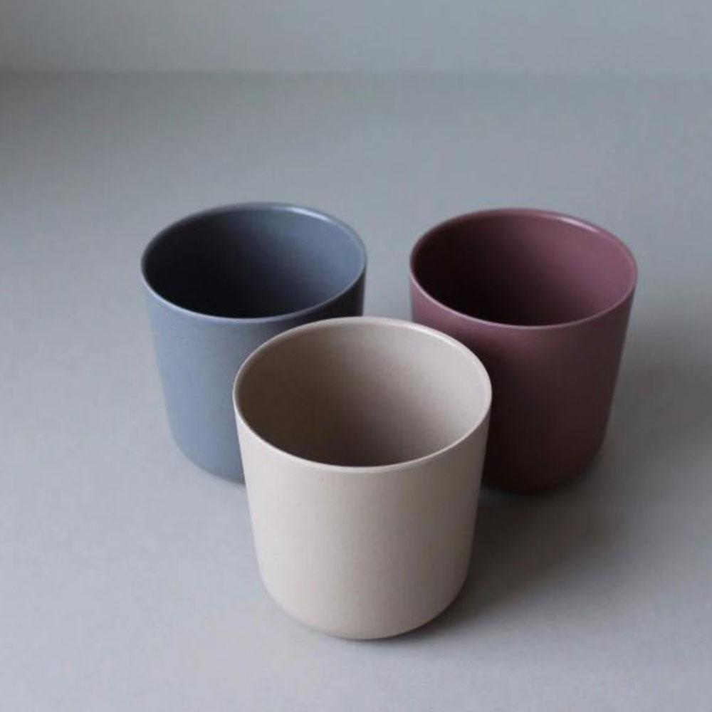 Bamboo Mug 3-pack Fog/Beet/Ocean