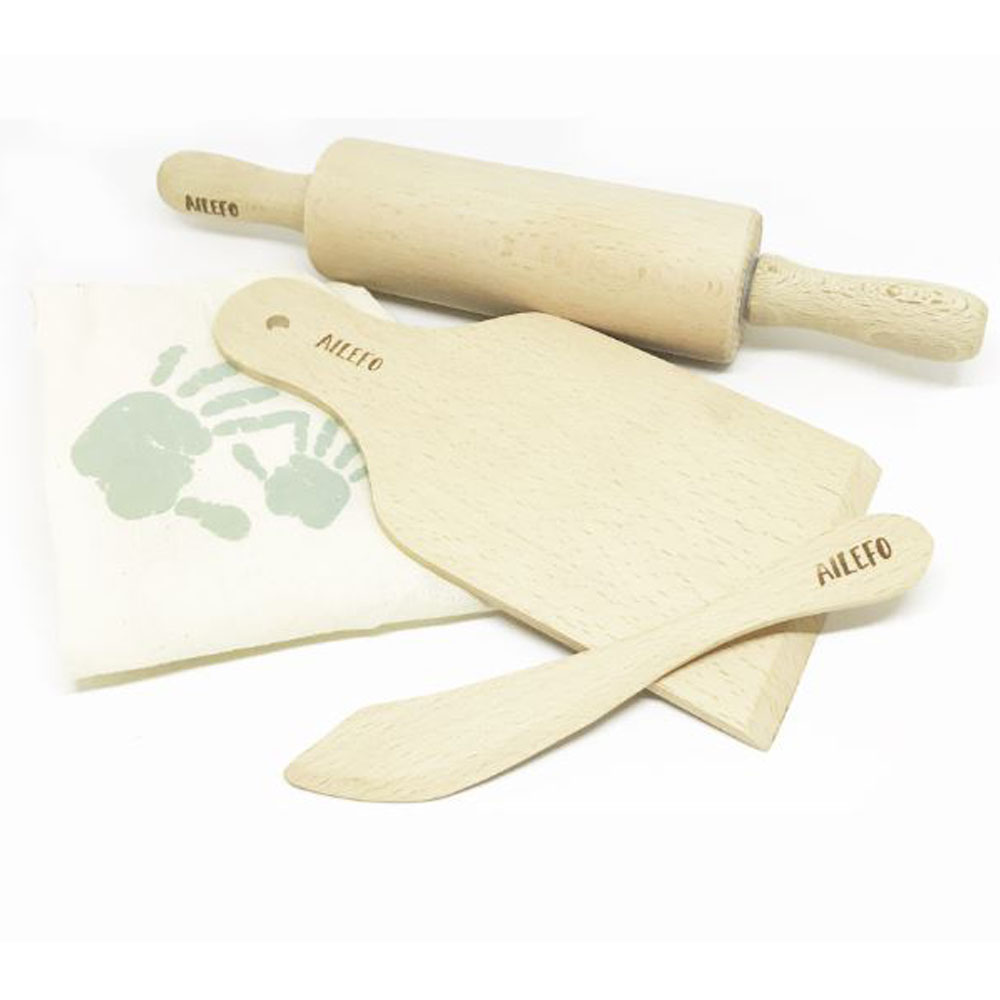 Eco Wood Tools for modeling clay