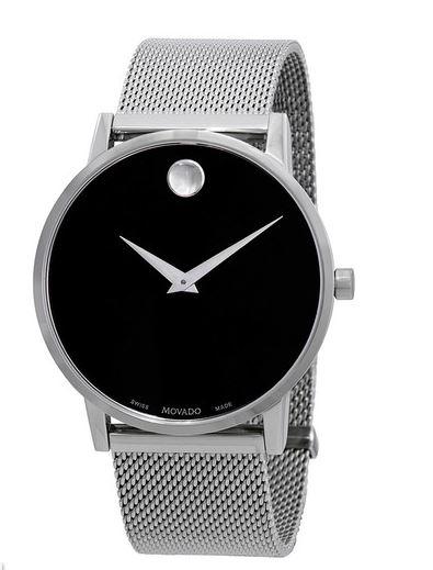 Museum Classic Black Dial Men's Watch