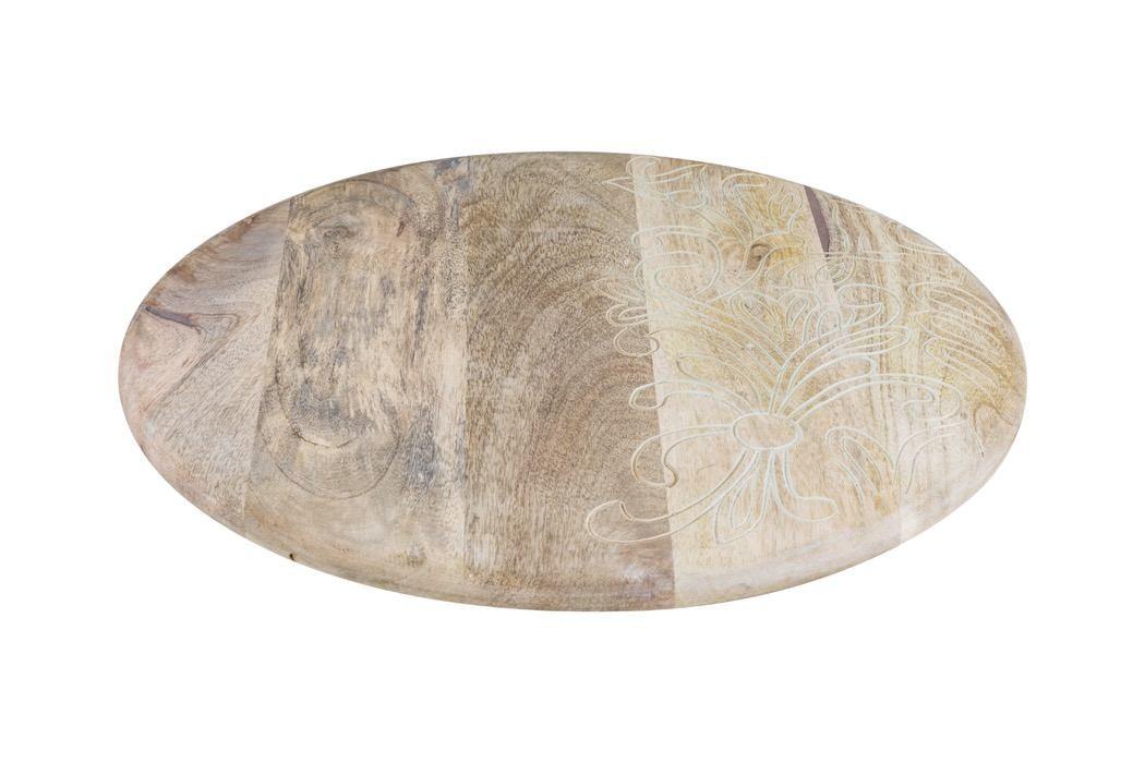 Abasna Round Flat Tray