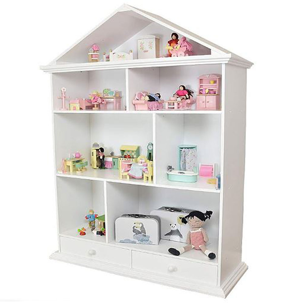 Classic Dolls House Shelf  With Drawer